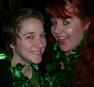 St. Pat's 2010 with Amber